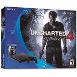 Playstation 4 Slim 500 Gb Uncharted 4
