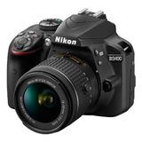 Camara Nikon D3400 +lente 18-55mm + Tarj Sd 32gb + Tripode