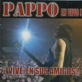 Pappo En Vivo Vive En Sus Amigos Vinilo Lp Nuevo Oferta Riff