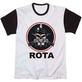 Camisa Blusa Camiseta Masculina Rota Policial Militar Tático