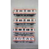 Tren Metro Escala Cdmx Color Naranja Envio Gratis