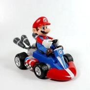 Super Mario Kart:mini Figuras Pull-back Racers - Mario