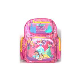 Mochila Princesas Disney Escolar Infantil Chenson Linda