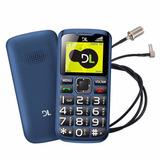 Celular Dl Yc120, Dual Sim, Função Sos, Lanterna, Rádio Fm A