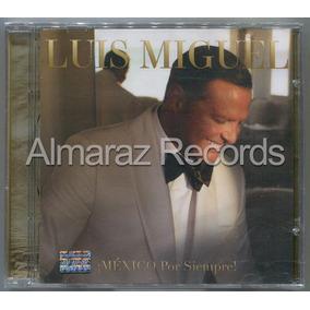 Luis Miguel Mexico Por Siempre Cd