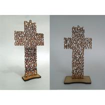 10 Cruces Padre Nuestro Y 10 Cruces Angel De La Guarda 20 Cm