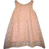 Vestido De Nena; De Fiesta; De Encaje;de Diseño;hecho A Mano
