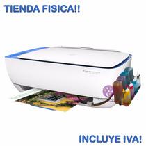 Impresora Multifuncional Hp 3635 + Sistema Tinta Continua