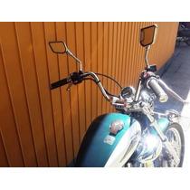 Guidon Custom Virago 535, 250 Cromado Pronta Entrega
