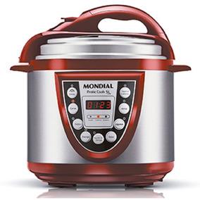 Panela Elétrica De Pressão Pratic Cook 5 Li Vermelho Com A