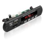 Modulo Aux Mp3 Usb Mp4 Fm C/control Auto 12v