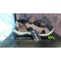 Zapato Cardinale 100% Cuero Color Café N° 39.