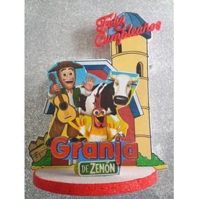 Granja De Zenón Adorno Decoración De Torta Cotillón Funbren