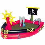 Pileta Inflable Niños Barco Pirata Espadas 53041 Belgrano