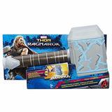 Martillo Thor Ragnarok Con Efecto De Golpe Poderoso Hasbro