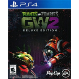 Plants Vs Zombies Garden Warfare 2 Deluxe - Ps4 Digital -
