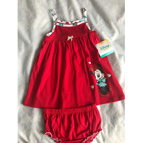 Vestido Infantil Minnie Disney Baby Original
