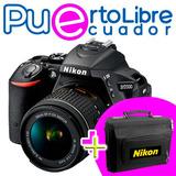 Nikon D5500 Profesional - 24.2mp + Lente + Memoria + Estuche
