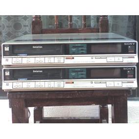 2 Videocaseteras Betamax Sony Sl-20