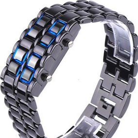 6b308f960a9 Relogio Led Iron Samurai - Joias e Relógios no Mercado Livre Brasil