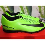 Tenis Futbol Nike Mercurial Vortex Turf 100% Originales Cr7