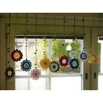 Flores Tejidas Al Crochet