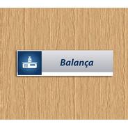 Placa De Sinalização Balança Promoção Relâmpago