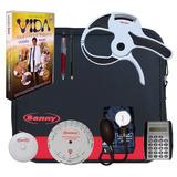 Kit Avaliação Física Adipômetro Clínico Sanny Com Software