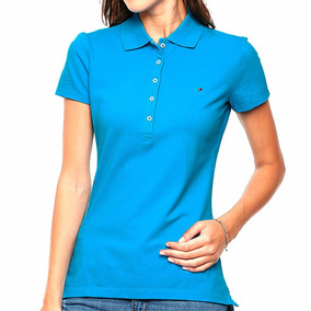 Playera Polo New Flag Mujer Tommy Hilfiger To030