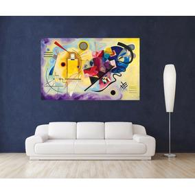 Kandinsky Bastidor En Canvas De 130x80 Cm + Muestras Gratis