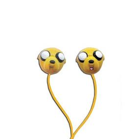 Adventure Time Audifonos Chupon Jake Hora Aventura 3.5 Mm Cn
