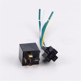 Conector Com Chicote + Rele Auxiliar 5 Pinos 12v 40a