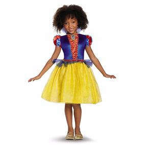 Vesdtido Princesa Disfraz Blanca Nieves Niña Tallas 4-6 7-8