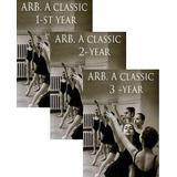 Dvd Danza Clasica Clase Ballet Nivel 1,2,3 - Método Vaganova