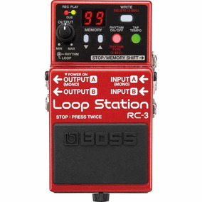 Pedal De Loop Boss Rc-3 Loop Station Rc3 - Nf E Gtia