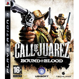 Call Of Juarez Ps3 Bound In Blood Digital Lgames