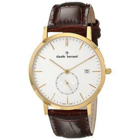 Reloj Claude Bernard Marrón