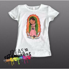 Blusa Dama O Niña 12 De Diciembre Virgen Guadalupe