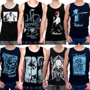 Lote 30 Camisetas/regatas Vitaboard