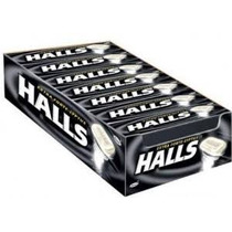 108 Pastillas Halls Negra Extra Strong Envio Gratis