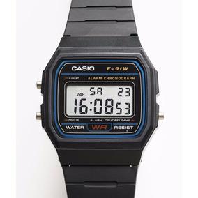 Reloj Original Casio F91w Moda Vintage - F91w-1
