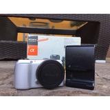 Cámara Mirrorless Sony Nex C3 Solo 1370 Disparos Como Nueva