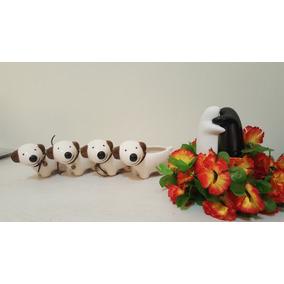 Minimaceta Perrito De Ceramica Ideal Souvenir, Decoracion