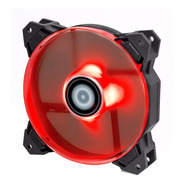 Cooler 120mm Id-cooling Pwm 1500rpm 62 Cfm Con Leds Rojos