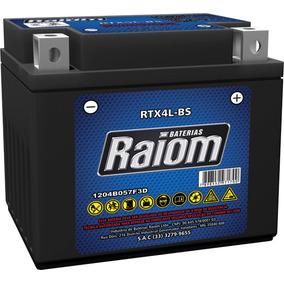 Bateria Selada Raiom Rtx4l-bs - 4 Amp - 12 Volts