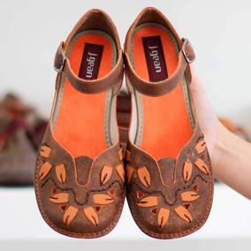 766a5ffad1 Salto Quadrado - Sapatos para Feminino Laranja no Mercado Livre Brasil