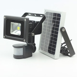 Reflector Solar Con Sensor Lampara Led Con Panel Solar