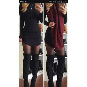 Vestido Ajustado Al Cuerpo. Otoño Invierno 2017