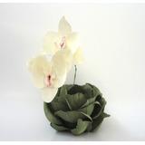Forminhas Em Tecido, Orquídeas