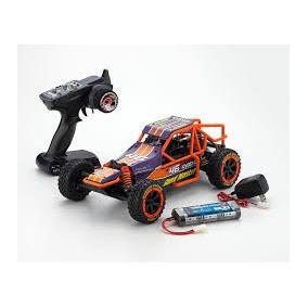 Automodelo Eletrico Kyosho Sand Master 1/10 Roxo Com Bateria